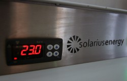 Ovladaci panel tepelneho cerpadla Solarius ENERGYSAVE detail
