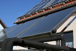Teplovodni solarni kolektory instalace