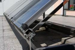 Uchyceni teplovodniho solarniho kolektoru