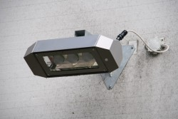 Energeticky usporne exterierov e LED svitidlo instalace