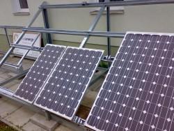 Konstrukce uchyceni fotovoltaickych panelu