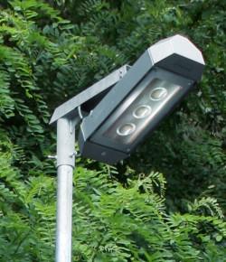 Energeticky usporne exteriero ve svitidlo s LED COB cipy