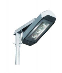 Energeticky usporne exterierove sviti dlo s LED COB cipy na bilem pozadi