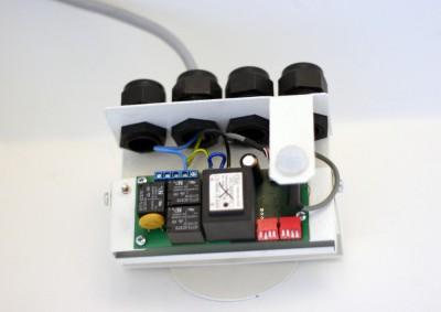 Ridici elektronika svitidel instalace
